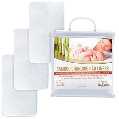 Extra Large Waterproof Changing Pad Liners for Baby - 36