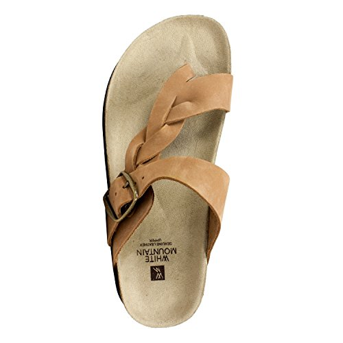 'Crawford' MOUNTAIN Shoes Women's Sandal Jute WHITE qxOEH8HWwA