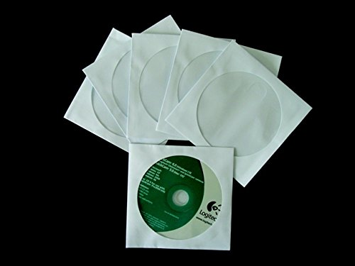 Quality Park Products 075963 CD-DVD Envelope with Window - Pack 100 by Quality Park
