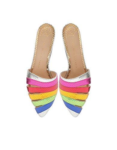 cuero Charlotte para mujer Olympia de C185653960 multicolor Sandalias IIrUOqzwB