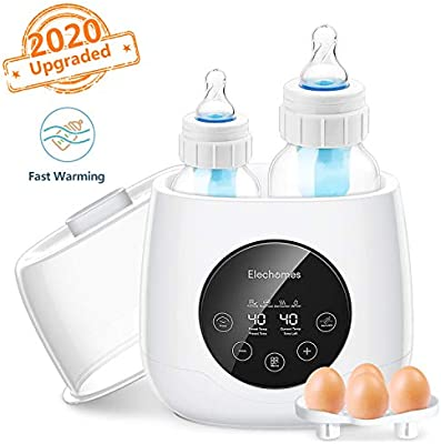 6 in Elechomes Baby Bottle Warmer Bottle Steam Sterilizer and Baby Food Heater