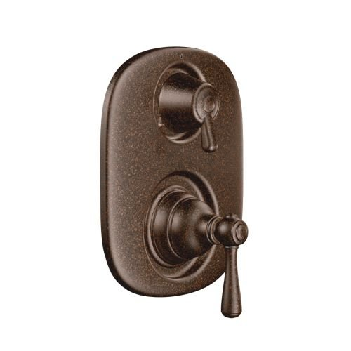 Moen T4111ORB Kingsley Moentrol Tub/Shower Transfer Valve Trim Kit without Valve, Oil-Rubbed Bronze by Moen