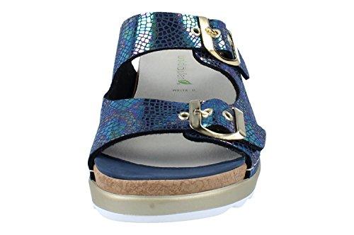 WALDLAUFER Femme Sandales pour Bleu Bleu BvwBrxqRa