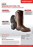 Dunlop 8408611 DURAPRO XCP Boots with Safety Steel