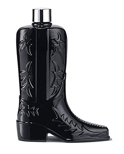 Avon Black Suede Eau De Toilette Boot Deacnter