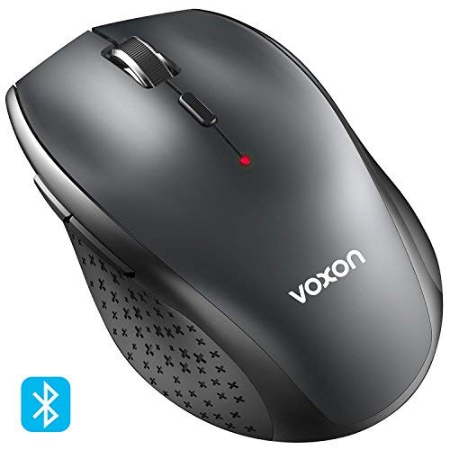 Bluetooth Mouse VOXON 3000 DPI Adjustable Bluetooth 3.0 Wireless Mouse 24...