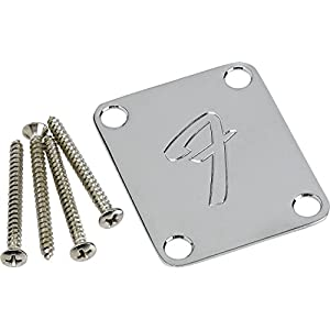 Fender F Neckplate Chrome