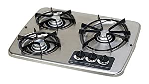 Atwood (56472) DV 30S Stainless Steel Drop-In 3-Burner Cooktop