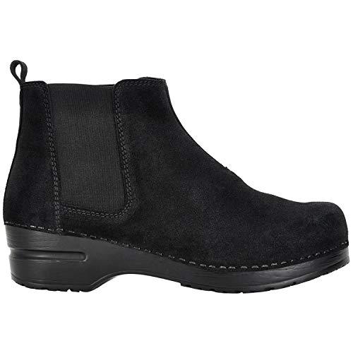 Sanita 'Vaika' Suede Chelsea Boot in Black (Art:471125)