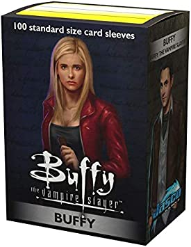 100 Count Buffy The Vampire Slayer Dragon Shield Standard Size Classic Art Sleeves