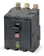 Square D Bolt On Circuit Breaker, 30 Amps, Number of Poles: 3, 240VAC AC Voltage Rating - QOB330