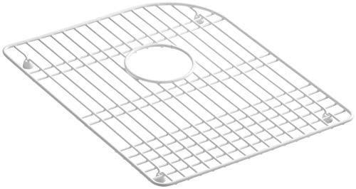 KOHLER K-6000-ST Efficiency Vinyl Coated Steel Sink Rack, Stainless Steel (Kohler Efficiency Bottom Basin Rack)