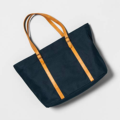 Large Tote Bag Blue - Hearth & Hand with Magnolia