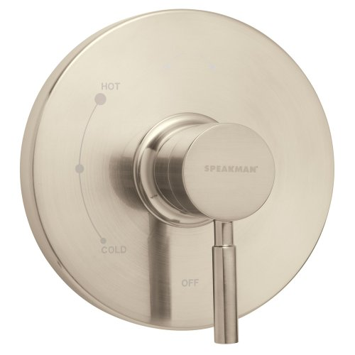 Speakman CPT-1000-P-BN Neo Pressure Balance Shower Valve Trim, Brushed Nickel (Valve Not Included)