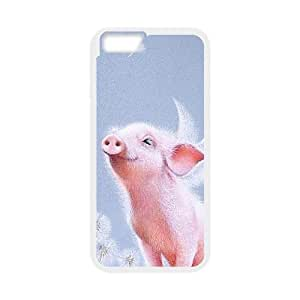 "funny pig Hard Back Durable Case for Iphone6 Plus 5.5"",diy funny pig case series 3"