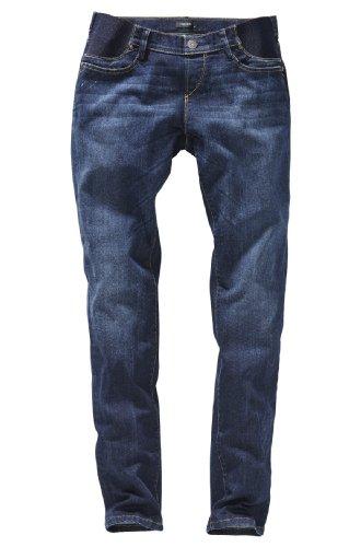 Noppies - Pantalón premamá slim fit para mujer Azul (Used Wash 052)