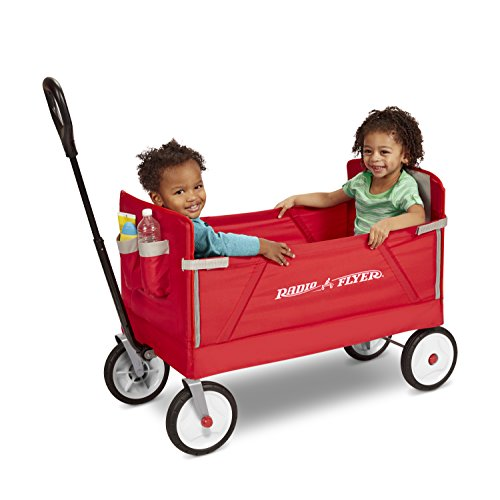 41uCZ2oPLvL - Radio Flyer 3-in-1 EZ Folding Wagon for kids and cargo