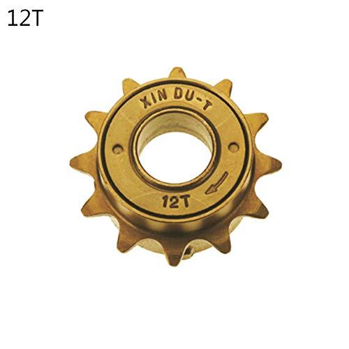 (Cycling Equipment & Accessories, 12T/14T/16T/#1 Speed 3 Steel Bike Freewheel Bicycle Flywheel Cycling Freewheel - 12T)