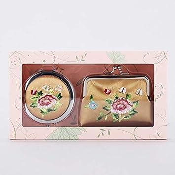 Amazon Compact Mirror Handmade Coin Bag With Purse Pocket Makeup