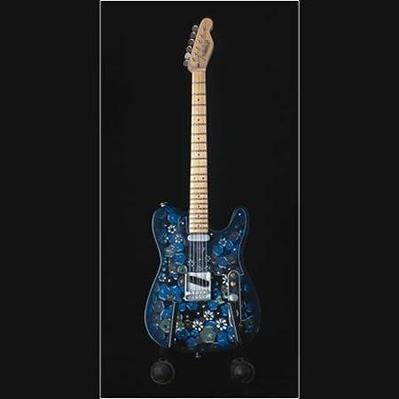 Hacha para guitarra en miniatura - Fender Stratocaster azul de ...