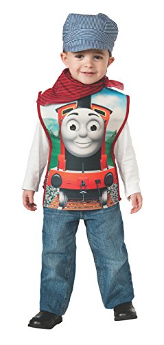 Toddler Thomas The Train Costumes (Rubies Thomas and Friends, James The Red Engine, Toddler)