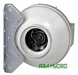 Systemair RVK 8 Inch L1 (200Mm) In-Line Ducting Fan (950M3/Hour) Hydroponics