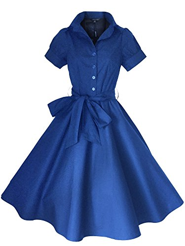 Look for the Stars Retro Vintage Kleid Abend Party 50er Jahre Stil ...