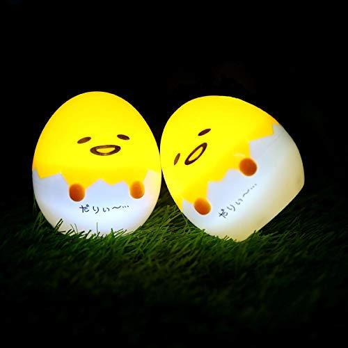 1Piece Japanese Anime Gudetama Egg Light-Up Children Toy Lazy Egg Yolk Gudetama Sleep Led Night Light Cute Decorate…