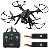 Drone Repair Parts - Force1 F100 RC Drone with GoPro Mount - F100 MJX Bugs 3 Go Pro Compatible Drones w/ Brushless Quadcopter Motors, 2 Batteries (Camera Not Included)