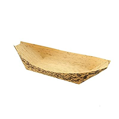 Bamboo Serving Boat