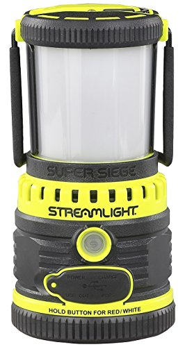 Streamlight 44945 Siege 1100 Lumen Ultra-Compact Work Lantern (Yellow, Rechargable) (Rechargeable Led Lantern)
