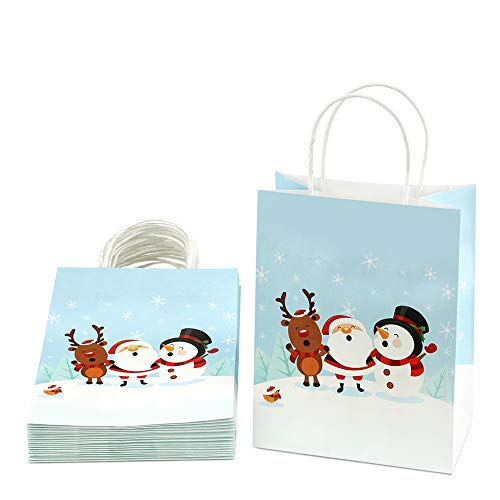 gift bags christmas paper