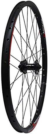 "GXFWJD MTB フロントおよびリアホイール26"" 自転車ホイールセット ダブルウォールアロイリム 黒 ディスクブレーキ 7-11速度 シールドベアリングハブ クイックリリース 28H"