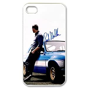 Popular Movie Paul Walker in fast furious 6 Apple Iphone 4S/4 Case Cover