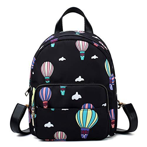 ballon LUXIAO chaud à air sauvage dos nouveau à sac féminine d'impression Noir mode Rrq8PwR