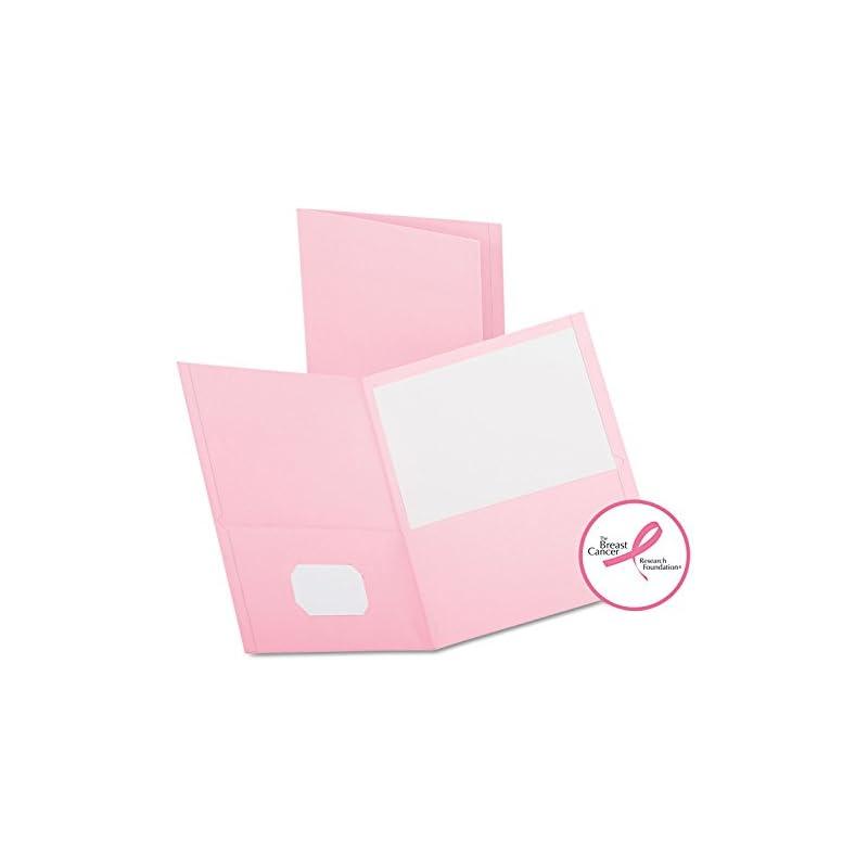 Oxford 57568 Twin-Pocket Folder, Embosse