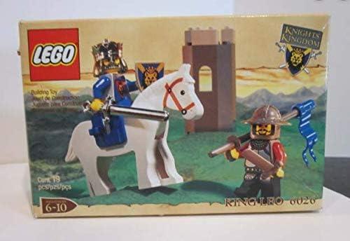 Lego King Leo Vintage Castle Set Knights Kingdom 6026 New Sealed Excellent Box
