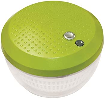 Bella One Touch Battery-Operated Salad Spinner