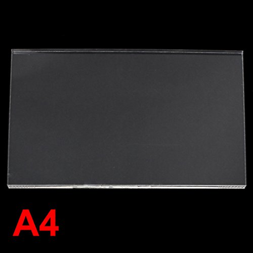 Uxcell 8 mm Thick clear Plastic Acrylic Plexiglass Sheet A4 Size 210 mm x 297 mm (Thermostat Acrylic Clear)