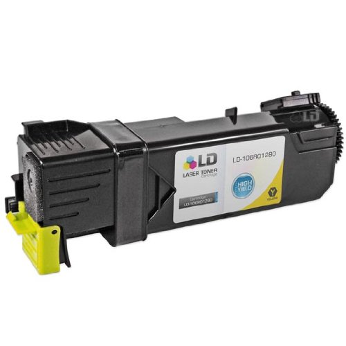 LD © Xerox Phaser 6130 Compatible 106R01280 Yellow High Yield Laser Toner Cartridge, Office Central