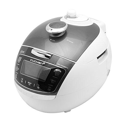 Cuchen Premium IH Pressure Rice Cooker (10cup, Metal Grey) (10CUP, Metal Grey)