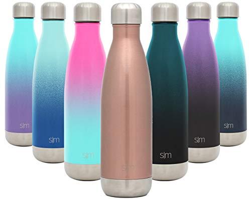 🥇 Simple Modern Wave 500ml Termo Botella de Agua Acero Inoxidable