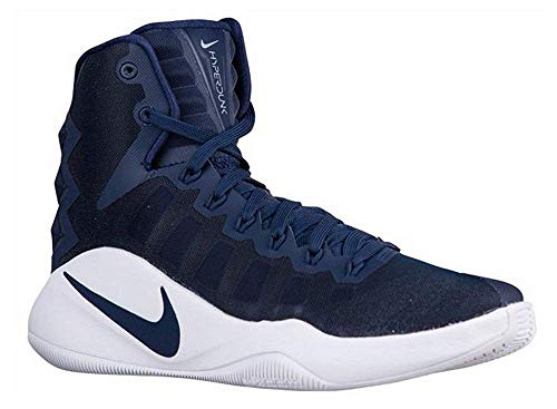 95b4203207e5 Nike New Hyperdunk 2016 TB Men 9 Basketball Shoes Navy White 844368 442