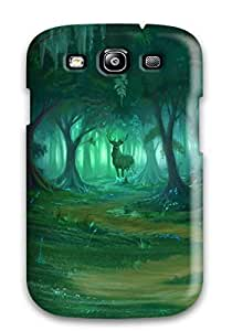 AIYAYA Galaxy S3 Well-designed Hard Case Cover Forest Art Protector