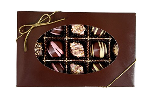 Mother's Day Chocolate Gift Box, Finest Gourmet Assorted Chocolates, Great Happy Birtday, Appreciation or Corporate Gift