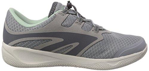 Hi-Tec V-LITE RIO RACE I WOMENS - Zapatillas De Deporte Para Exterior de material sintético mujer gris - Grau (051 COOL GREY/STEEL GREY/LICHEN)