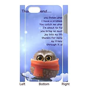 Lovely Durable Owls 3D pattren Otterbox for iPhone5 by icecream design