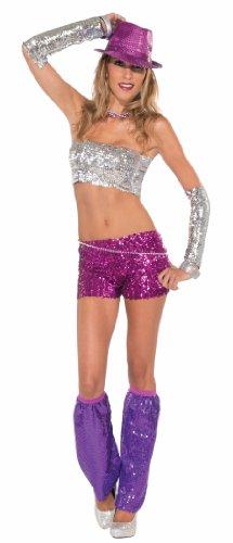 Forum Club Dazzle Sequin Mini Shorts