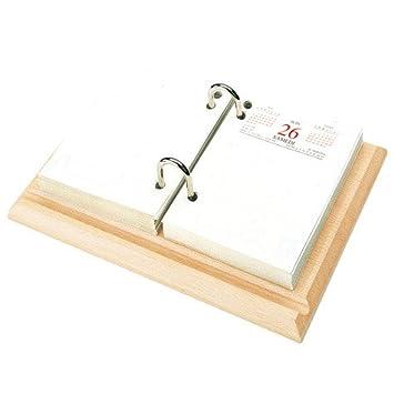 Agenda de sobremesa, 8,3 x 12 cm: Amazon.es: Oficina y papelería