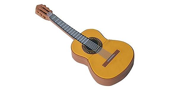 USB Pendrive Guitarra de 16 GB en Lata con Abre fácil: Amazon.es ...